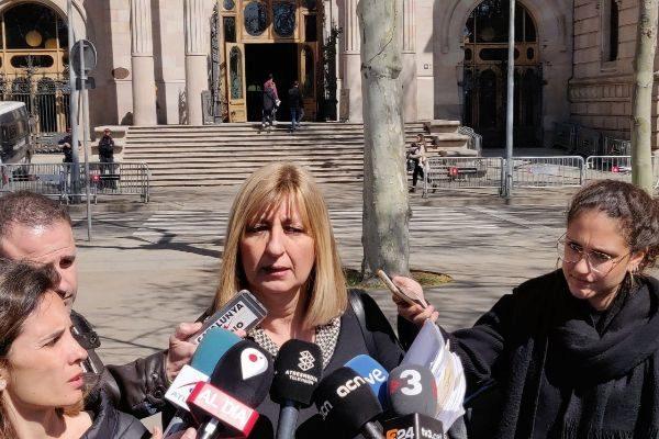 La abogada de Tomás Pardo, tras el juicio