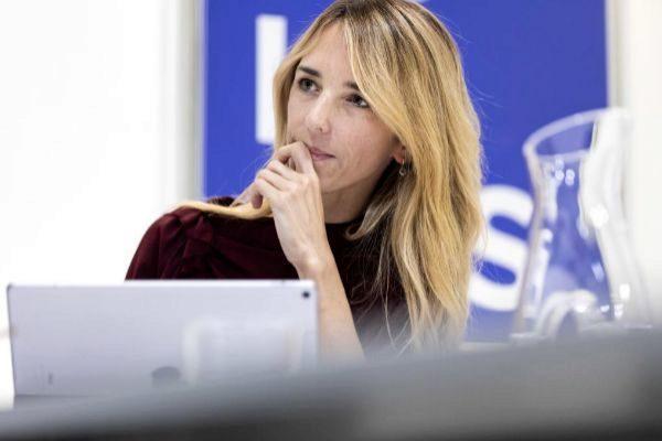 Cayetana Álvarez de Toledo, candidata del PP por Barcelona.