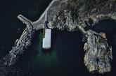<strong>Costa meridional noruega</strong>. Emplazado en Lindsesnes, en...