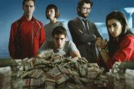 Una imagen de la serie 'La casa de papel'.