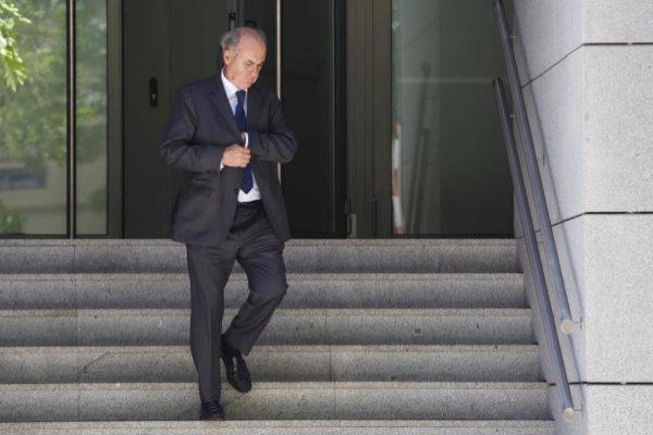 Manuel García-Castellón, a la salida de la Audiencia Nacional.
