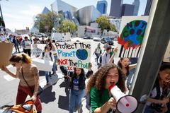 La manifestación en Los Angeles del pasado viernes