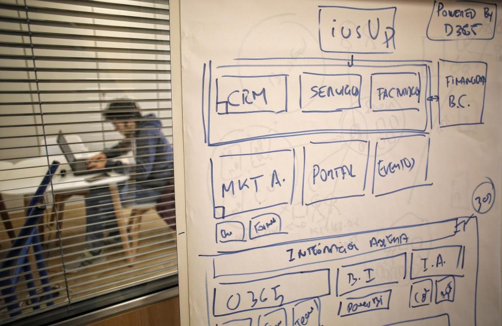 Interior de la empresa de software especializado Awely, en Barcelona