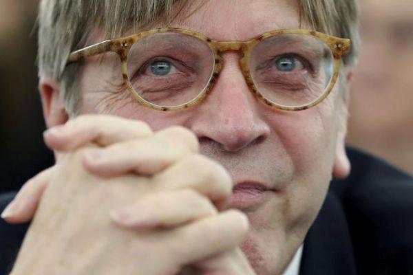 El líder de los liberales de Alde, Guy Verhofstadt.