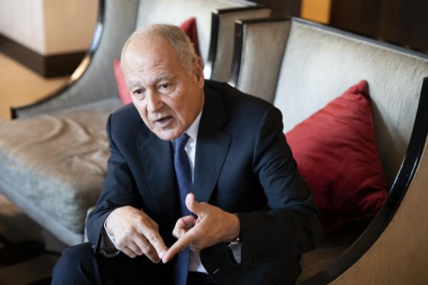 <HIT>Bernardo</HIT> <HIT>Díaz</HIT>. 20/03/2019. Madrid. Internacional. Liga Árabe. Ahmed Aboul Gheit, secretario general de la Liga Árabe