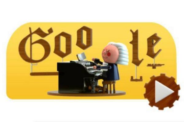 Google dedica a Bach su primer doodle basado en la inteligencia artificial