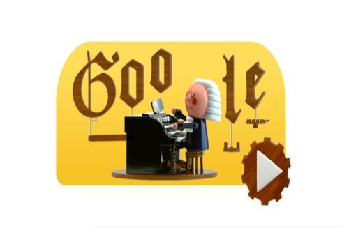 Johann Sebastian Bach protagoniza el doodle de Google