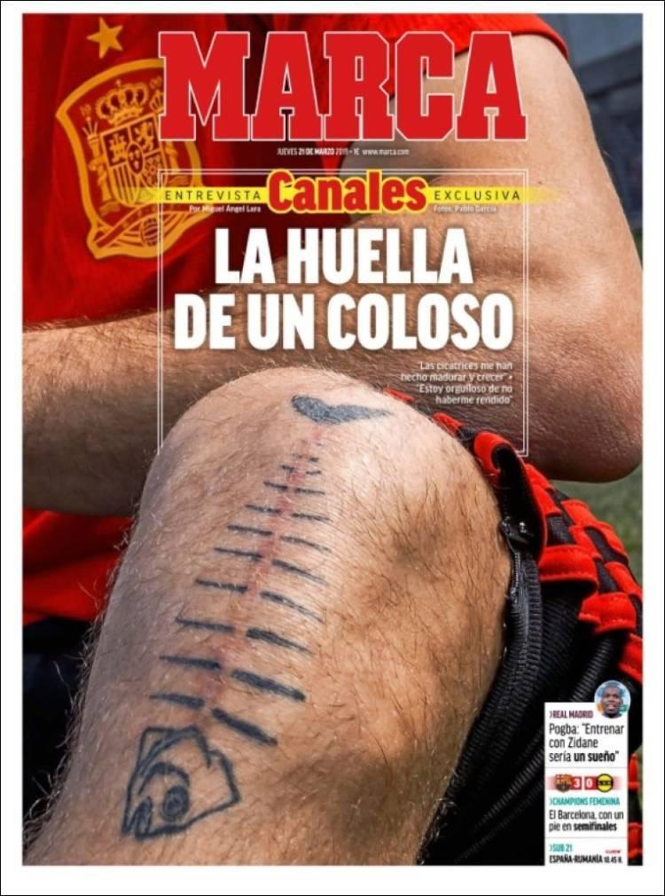 Las portadas de los periódicos deportivos del 21 de marzo