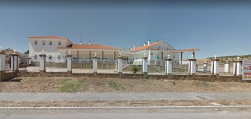 La residencia de Berlanga donde ha tenido lugar el suceso.