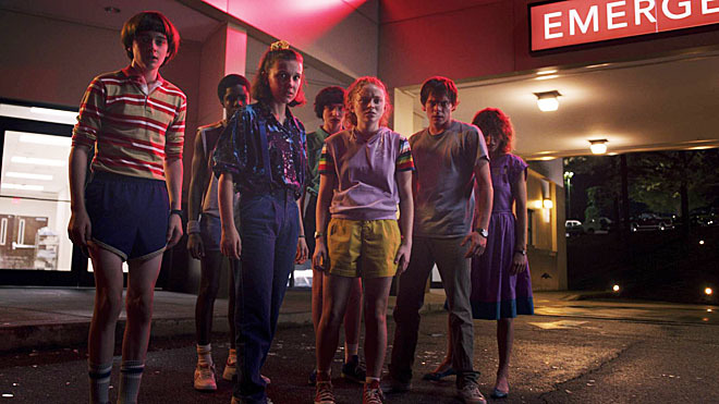 El elenco de Stranger Things.