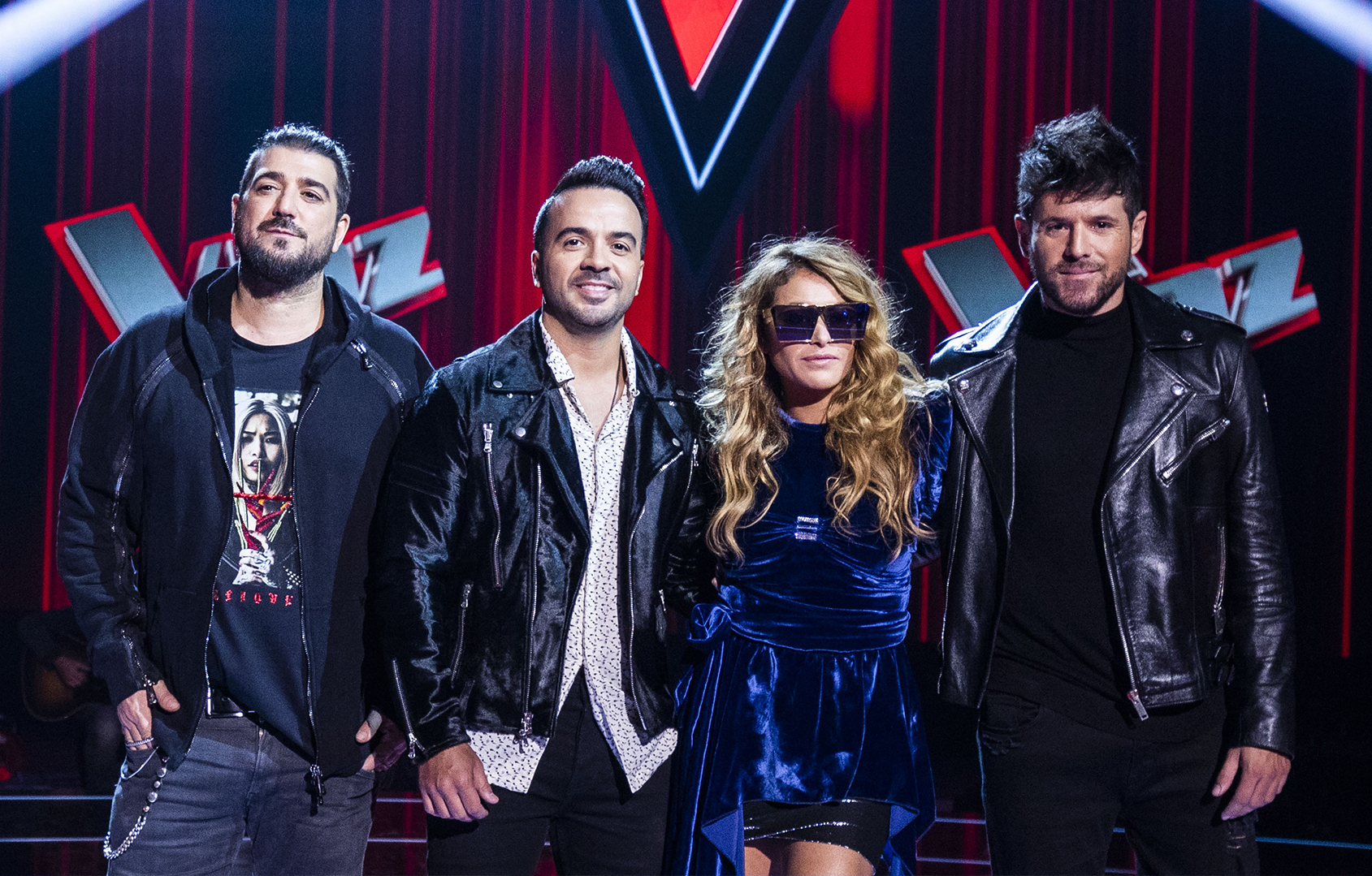 Antonio Orozco, Luis Fonsi, Paulina Rubio y Pablo Motos estarán en el concierto de La Voz