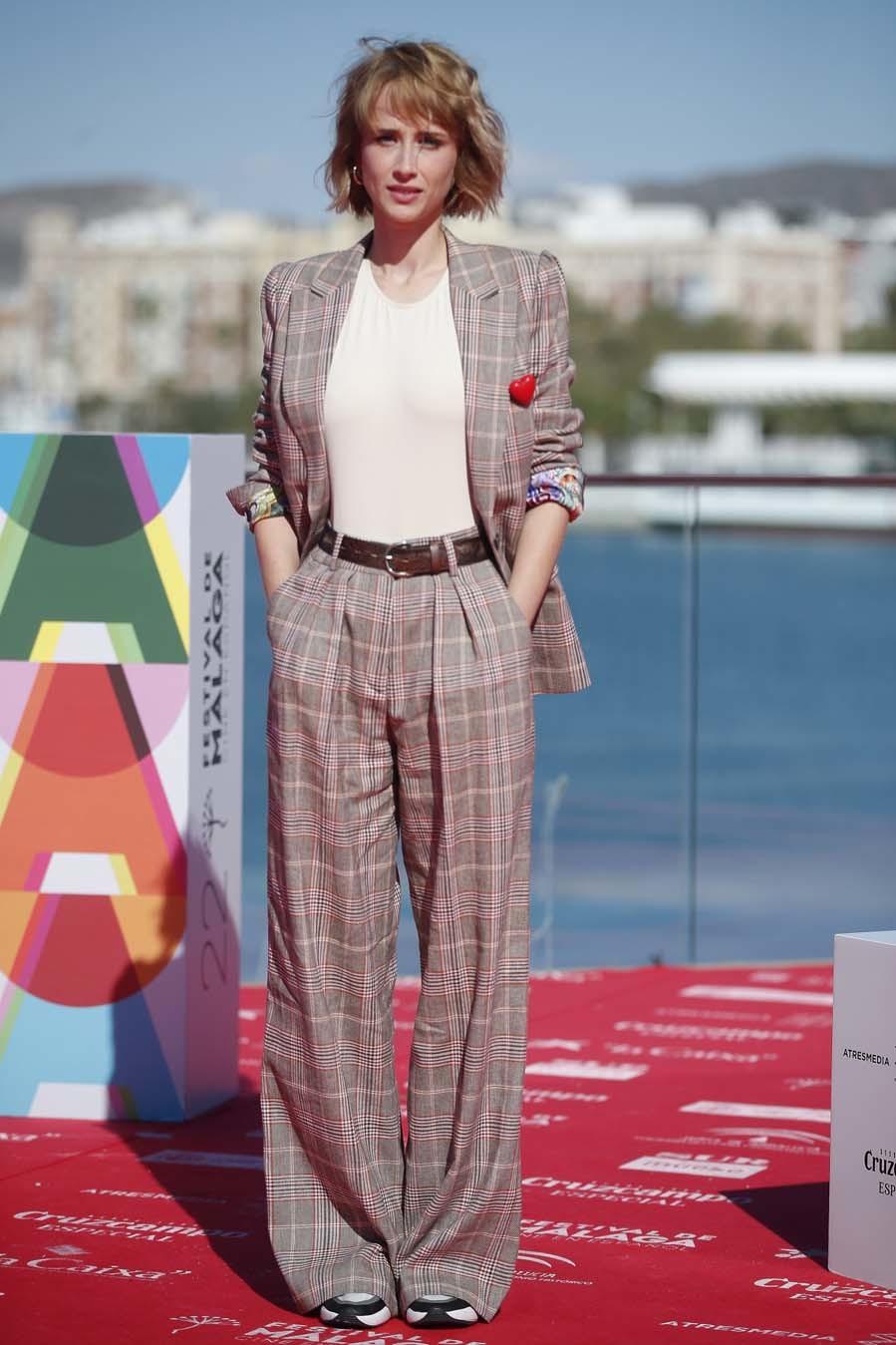 Las mejor vestidas de la semana - Ingrid García-Jonsson y el traje de cuadros