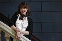 La escritora Elisa Victoria, retratada en Barcelona.