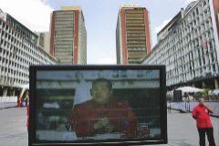 Una emisión de 'Alo presidente', en Caracas, en 2008.
