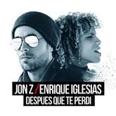 Enrique Iglesias y Jon Z en la portada de Después Que Te Perdí