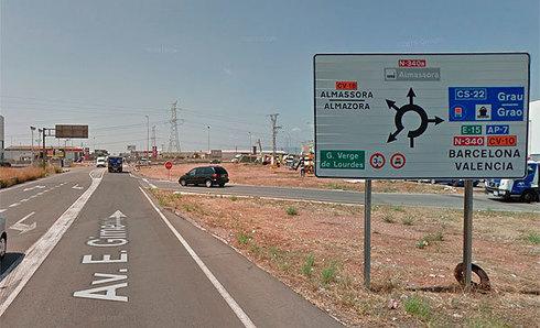 Avenida Enrique Gimeno de Castellón.