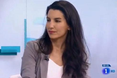 Rocío Monasterio, durante su entrevista en Los Desayunos.