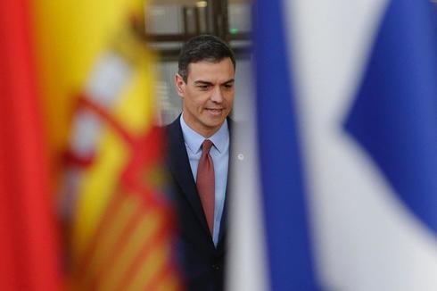 Pedro Sánchez, en el Consejo Europeo que se celebra en Bruselas.