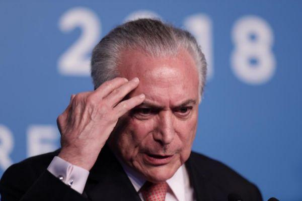 El ex presidente brasileño, Michel Temer.
