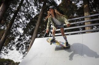 La niña 'skater' Sky Brown, ¿prodigio o insensatez?