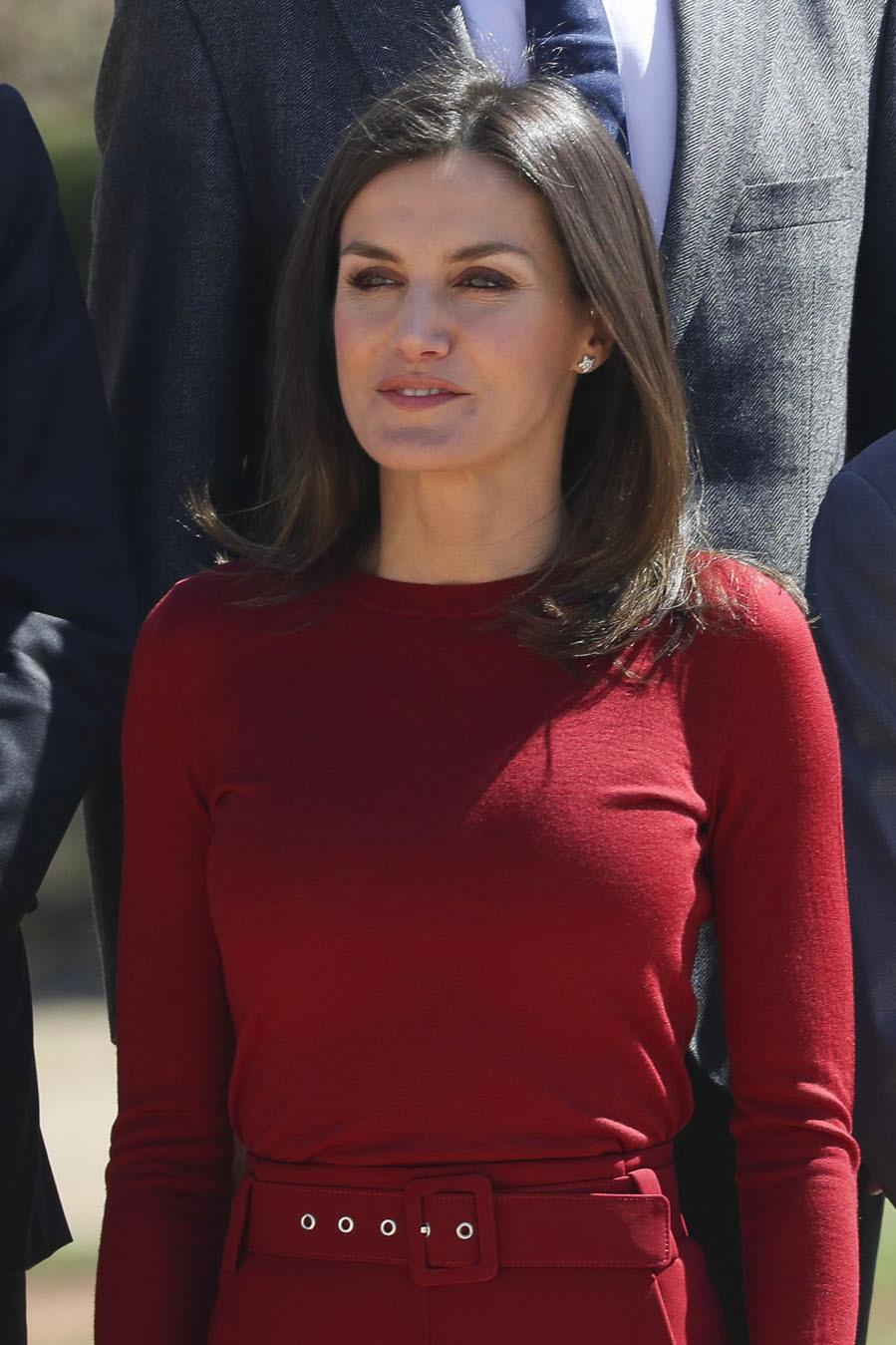 La Reina ha acudido al acto Encuentro con la ciencia: la...