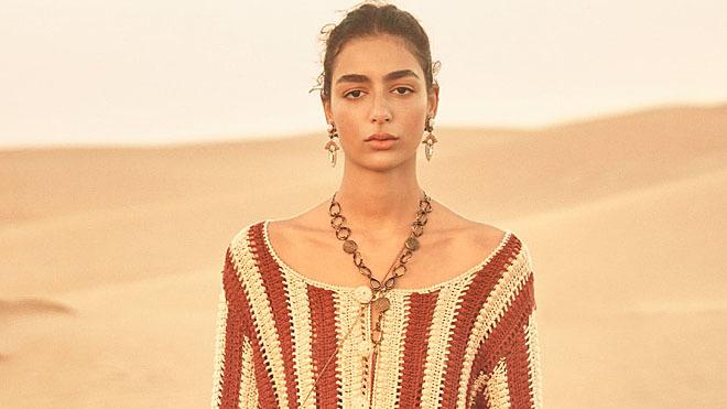 La última colección de Zara está impregnada de tintes árabes.