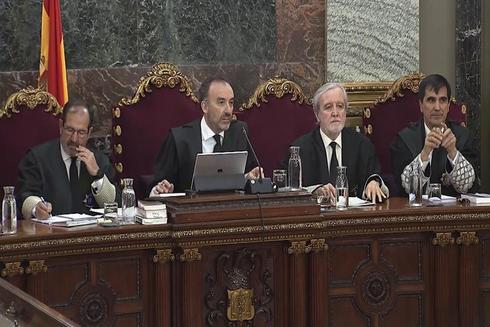 El tribunal del juicio del 1-O con Manuel Marchena como presidente