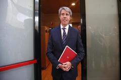 Ángel Garrido, en la Asamblea de Madrid.