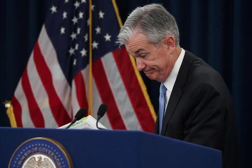 El presidente de la Reserva Federal, Jerome Powell, tras la última reunión de la Fed.