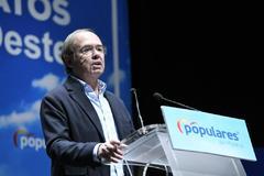 El presidente del Senado, Pío García Escudero