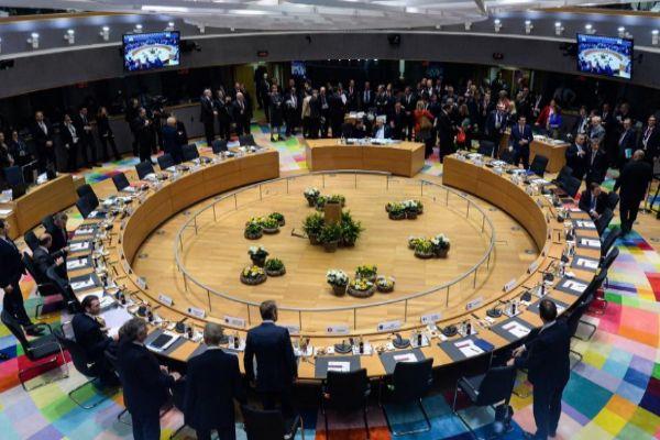Mesa redonda del Consejo Europeo, el jueves en Bruselas.