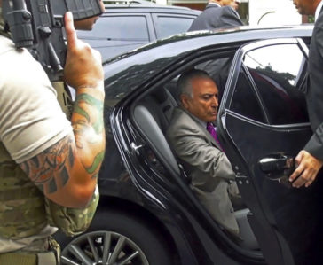 Detenido el ex presidente  Michel Temer