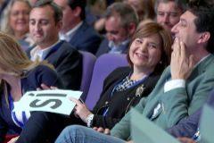 César Sánchez, Eva Ortiz, Isabel Bonig y Vicente Betoret, en el congreso regional.