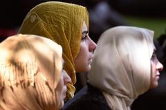 El velo en solidaridad con las víctimas del atentado