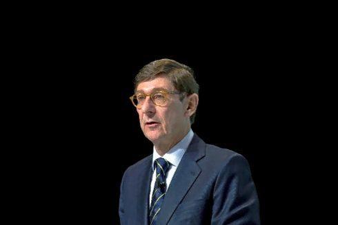 José Ignacio Goirigolzarri durante una intervención en Valencia.