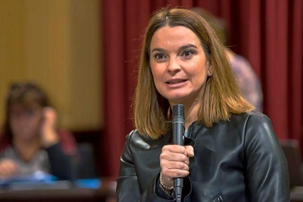 """Marga Prohens: """"Las bases se enfadaron, pero con mi designación están muy ilusionadas"""""""