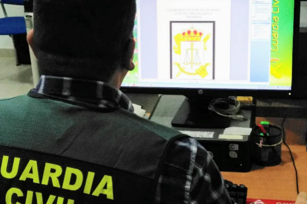 Un guardia civil implicado en el caso.