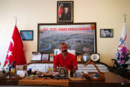 Fatih Mehmet Maçoglu, en su despacho.