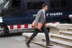 Oriol Pujol en una imagen de archivo entrando a la Audiencia de Barcelona
