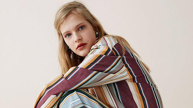 En su nueva colección Zara apuesta por las prendas de lino y algodón.
