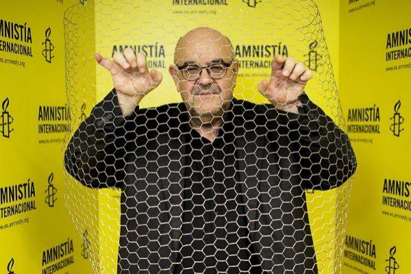 El director de Amnistía Internacional, Esteban Beltran.