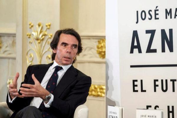 José María Aznar, en un acto en Las Palmas.