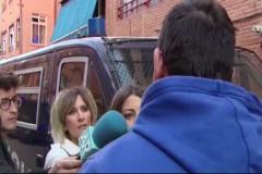 """El hijo del asesinado: """"No apoyamos los movimientos violentos"""""""