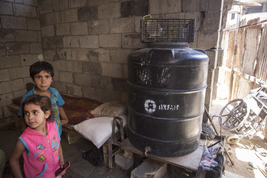 """""""El  97% del agua dulce en la franja de Gaza no es apta para el consumo humano"""""""