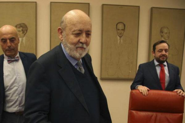 José Félix Tezanos, en una comparecencia en el Congreso.