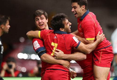 Los españoles, tras el 24-26 a Nueva Zelanda en Vancouver.