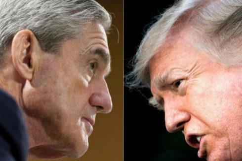 El fiscal especial Robert Mueller y el presidente de EEUU Donald Trump.
