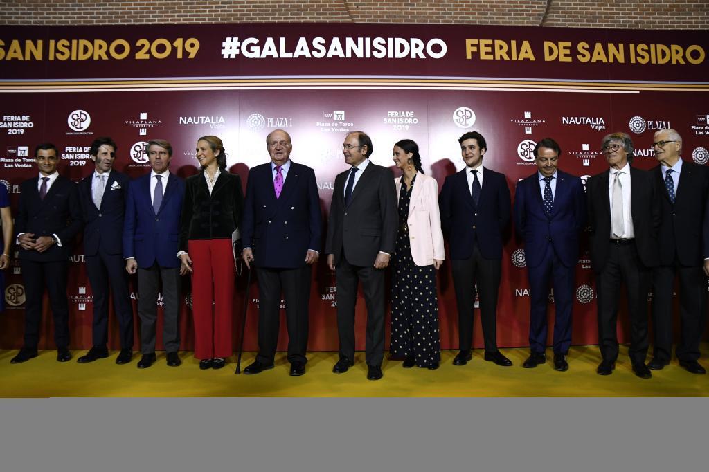 El Rey Don Juan Carlos honró con su presencia la gala de San Isidro