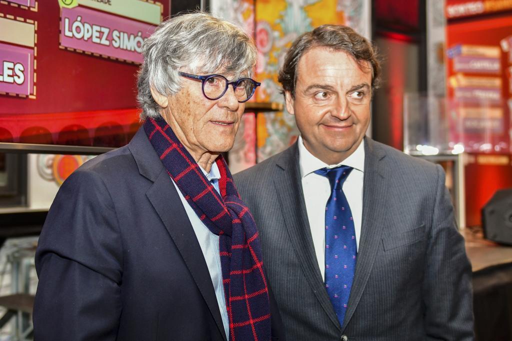 Simón Casas y Rafael Garrido