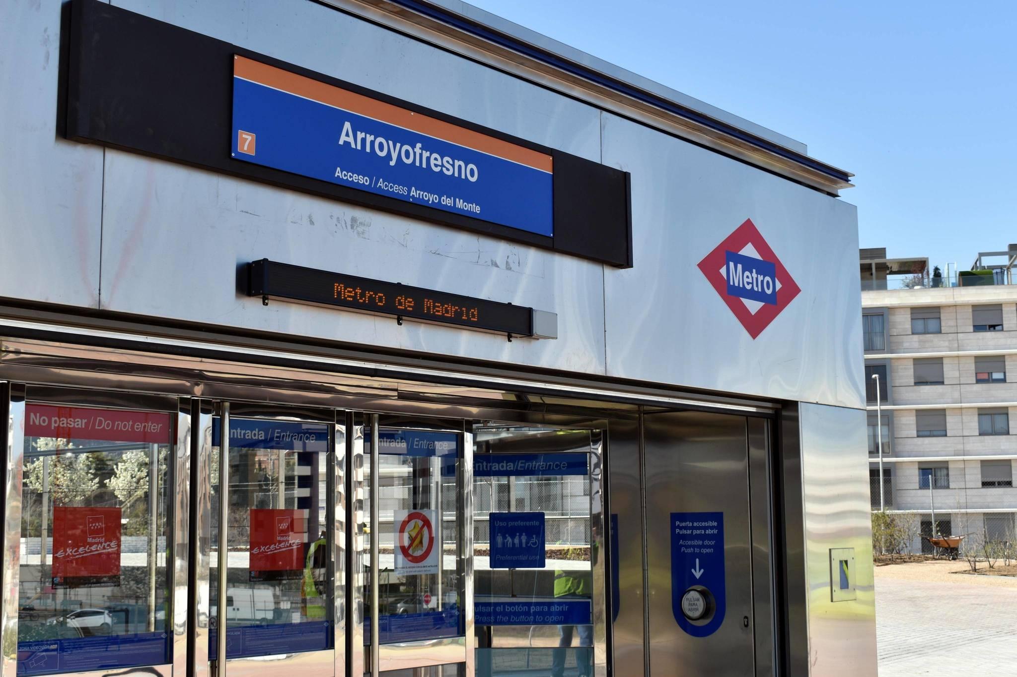 La estación de Arroyofresno abre 20 años después de su construcción